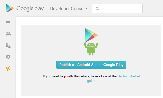 New google play app